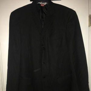 LINEA UOMO- TWO PIECE Black suit(pants included)